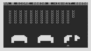 Alien SPACE INVADERS CLONE 19xx  SINCLAIR ZX80 ZX 80 ZX81 ZX 81 Science of Cambridge Ltd
