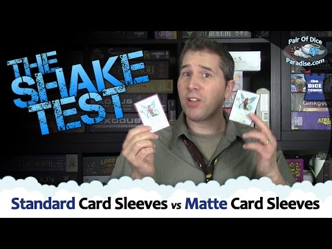 Standard Card Sleeves Vs Matte Card Sleeves (The Component Proponent)