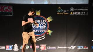 C3yoyodesign Presents: WYYC 2015 1A Final Janos Karancz