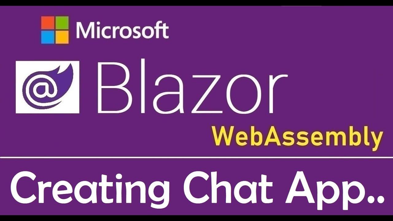 Blazor WebAssembly : Creating Chat Application Using SignalR - EP24