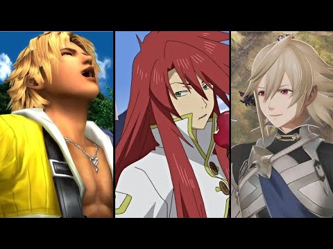 Top 10 WORST Main Characters In JRPGs!