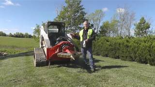 Fecon Stumpex Stump Grinder Maintenance