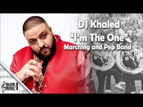 """I'm The One"" DJ Khaled Marching/Pep Band Sheet Music Arrangement"