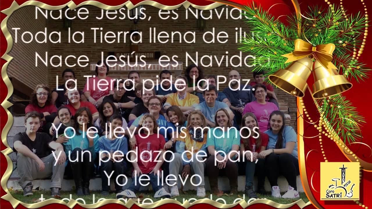 NACE JESÚS! ¡Feliz Navidad! (CoroSatri) - YouTube