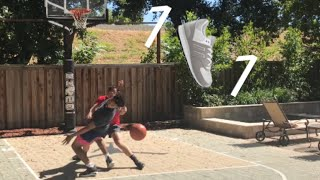 A GAME OF 1v1 FOR A PAIR OF SHOES.. W/ A SURPRISE!!