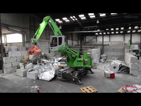 SENNEBOGEN 818 E-Series Electric Material Handler - Recycling - Biewer - Germany