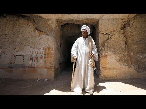 مصر تزيح الستار عن أكبر مقبرة فرعونية في البر الغربي لمدينة الأقصر…  - نشر قبل 2 ساعة