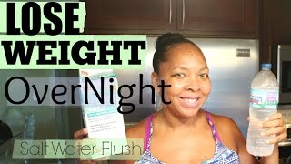 LOSE WEIGHT OVERNIGHT! UP To Ten Pounds Naturally {DETOX TUTORIAL}