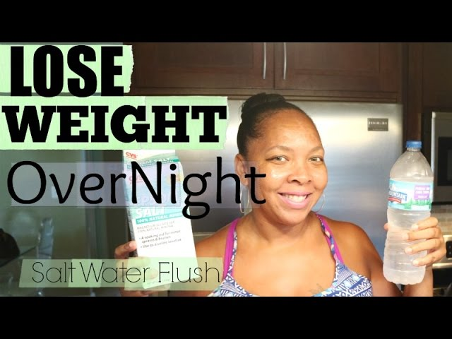 Does Salt Water Cleanse Help Lose Weight Femina In