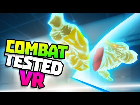 ESCAPE THE LAB BY SLICING THROUGH ENEMIES! - Combat Tested VR Gameplay - VR HTC Vive Pro