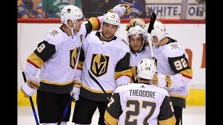 All Goals by the Vegas Golden Knights during the 2017 NHL preseason