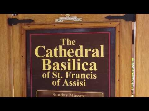 History & News Cathedral Basilica St. Francis of Assisi in Santa Fe New Mexico 2017