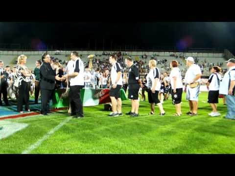 Festa Panthers vittoria Italian Super Bowl 2012 in HD