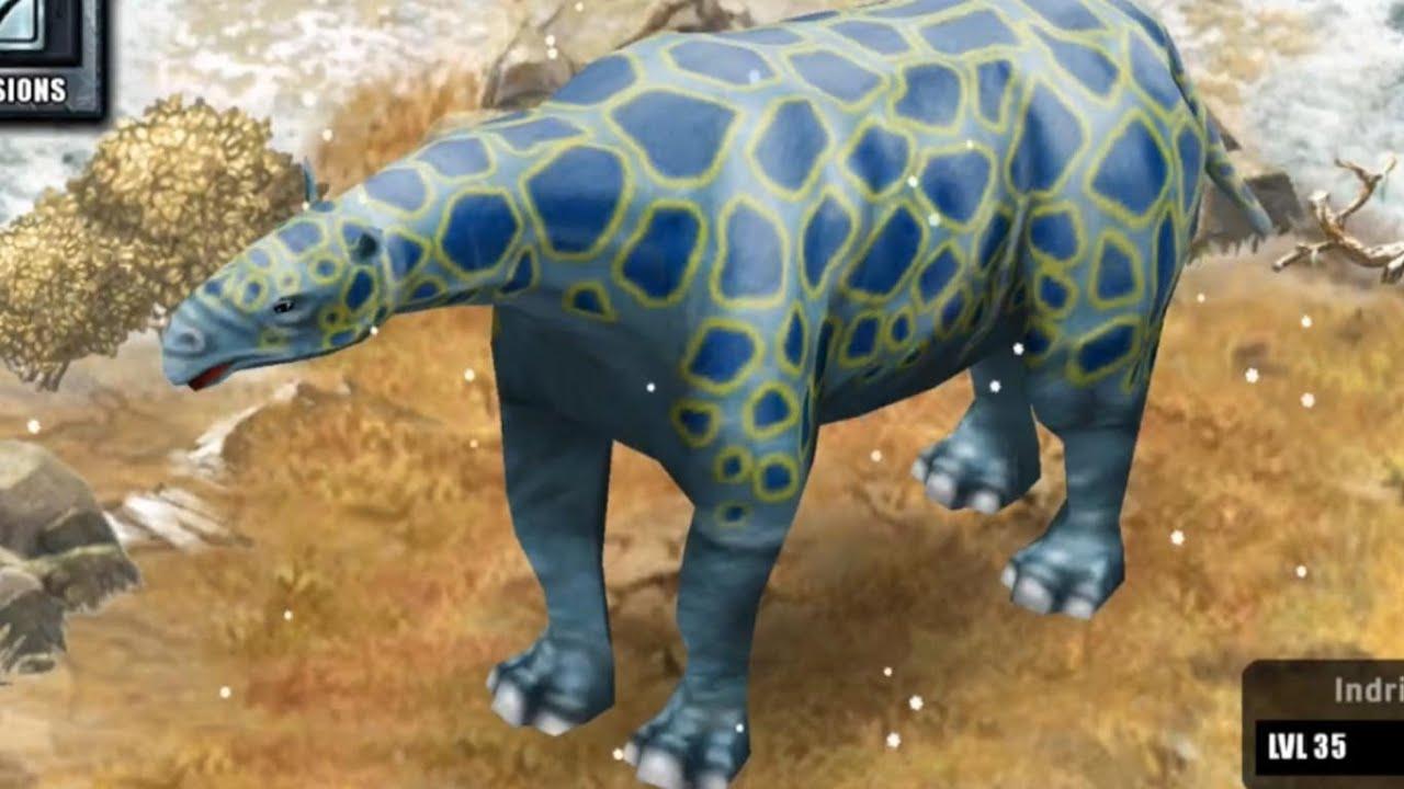 Jurassic Park Builder - Indricotherium [Glacier Park ...