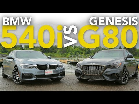 2017 BMW 540i vs Genesis G80 Sport Luxury Sedan Comparison