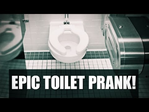 PRANKED: WOMAN GLUED TO TOILET SEAT IN HOME DEPOT
