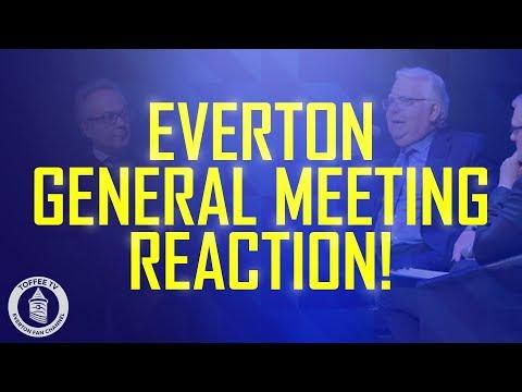 Everton General Meeting Reaction