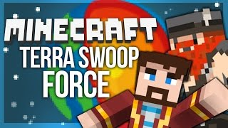 DROPPING THROUGH THE EARTH | Minecraft Terra Swoop Force #1 (Adventure/Dropper Map)