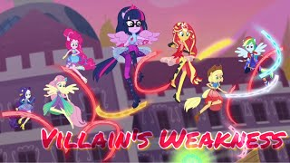 Equestria Girls Spring Breakdown Villain's Weakness