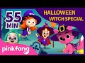 Halloween Witch Special | +Compilation | Halloween Songs | Pinkfong Songs for Children Mp3