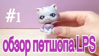 №1 ОБЗОР ПЕТШОПОВ LPS фиолетовая кошка