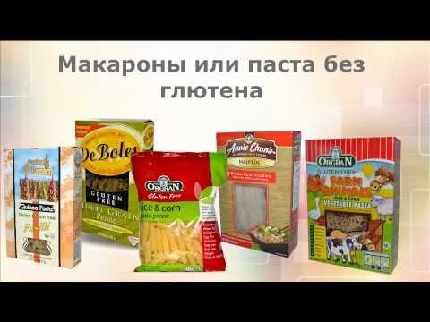 глютен в каких продуктах содержится таблица