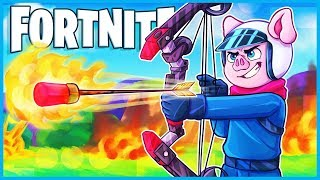 *NEW* BOOM BOW is AWESOME in Fortnite: Battle Royale! (I think idk barely got to use it)