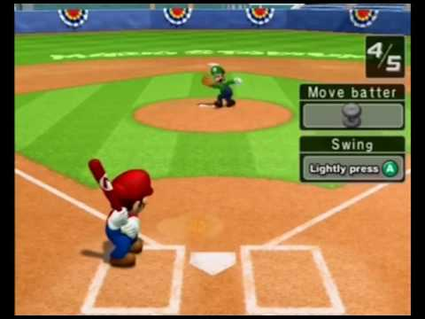 Mario Superstar Baseball Part 1: Learning The Controls-AngryMonkeyGames