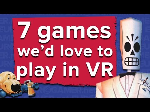 7 games we'd love to play in VR - what do you think of our choices?