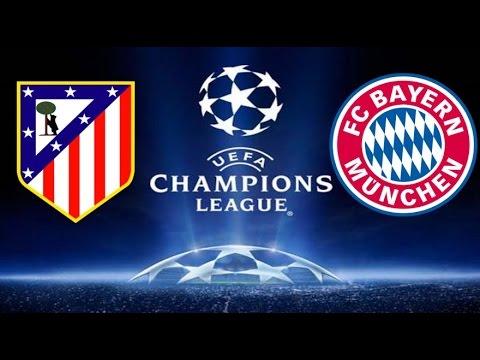 LIVE Atletico Madrid vs Bayern Münih CANLI