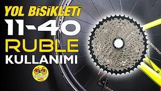 Yol Bisikletinde 11/40 Kaset Ruble Kullanımı | 11-40 Casette on Road Bike ( Derailleur Capacity)