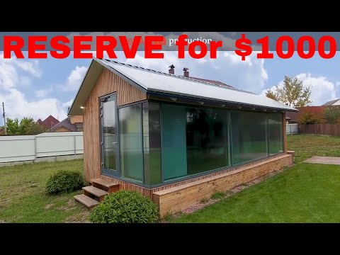 3D Printing Of House In Less Than 8 Hours For $1000 | PassivDom ModulOne | The House Of Future