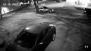 Thief trying to get in cars