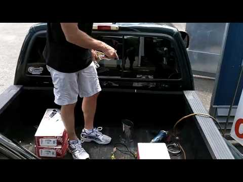 Ford F350 Stacks Install part one