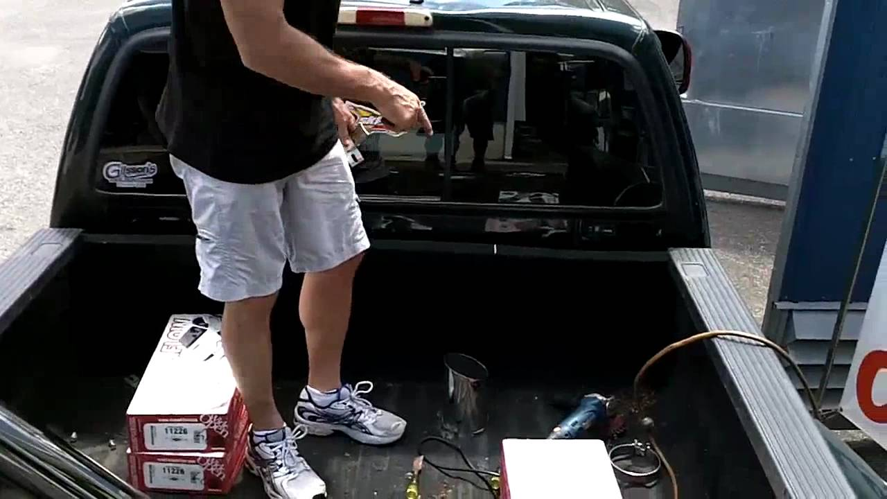 Ford F350 Stacks Install part one - YouTube