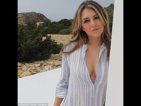 Elizabeth Hurley, 52, exhibits her impressive physique in a skimpy bikini thumbnail