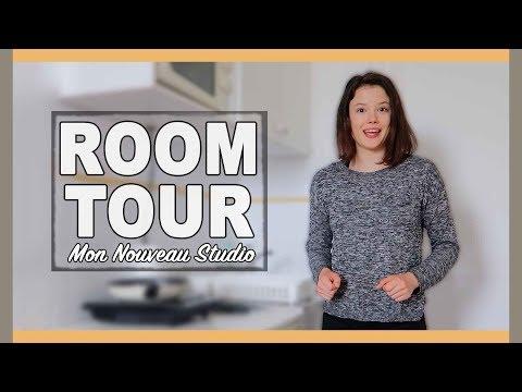 ROOM TOUR 2018 | Nouveau Studio à Paris !! -  Claire