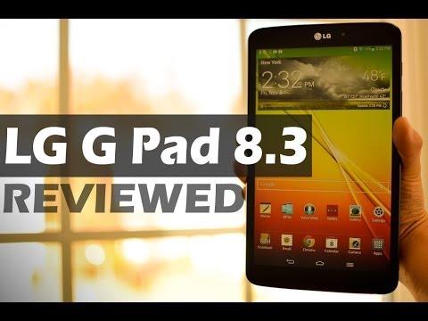 REVIEW: LG G Pad 8.3