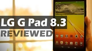 REVIEW: LG G Pad 8.3