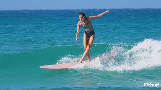 Longboard / Natalia Smith Cross-Stepping at Queen's - Freesurf Magazine