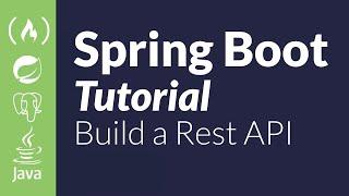 Spring Boot Java Tutorial - REST API Using PostgreSQL And JWT