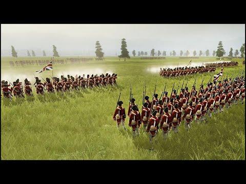 BATTLE OF CAMDEN - Regiments of American Revolution Mod Gameplay