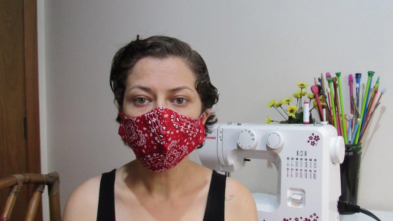 Máscara de Tecido Dupla Face