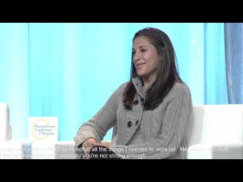 Soccer Superstar Carli Lloyd Interviewed at the 2015 PA Conference for Women