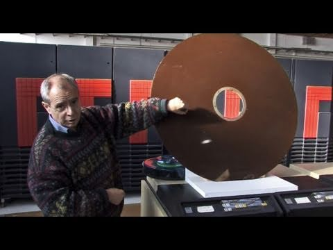 40-Zoll-Festplatte Mit 6 Megabyte
