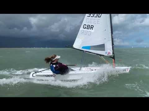 Day One - RS Aero Uk Open & National Championships 2020 at Eastbourne Sovereign S.C.