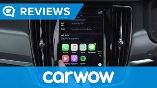 Volvo S90 2017 Saloon infotainment review   Mat Watson reviews