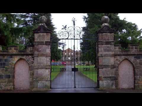Gates Leslie House Fife Scotland