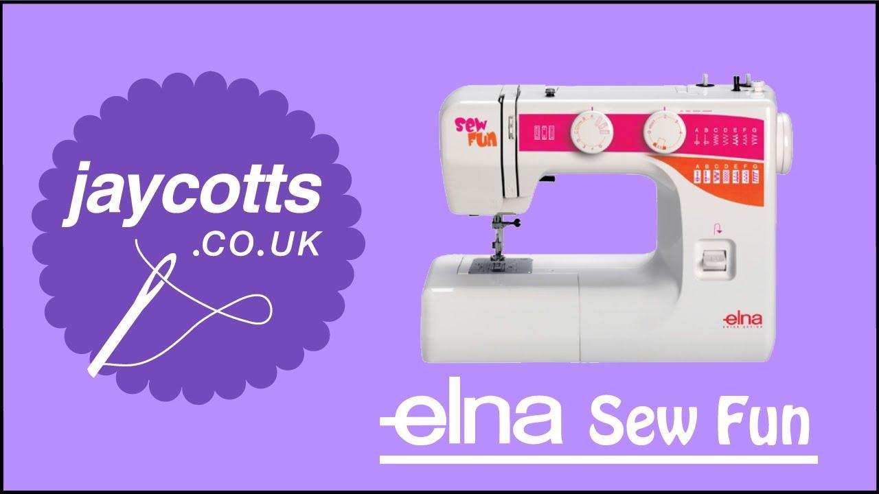 elna sew fun sewing machine youtube rh youtube com Elna Grasshopper Sewing Machine Contessa Sewing Machine Manual