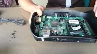 inside view of videocon hd 2011 set top box